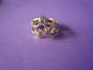 diamonds and gold the multi stone ring
