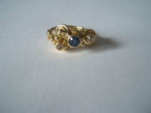 three bead ring