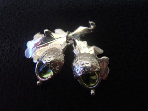 brooch designed and created by helen burrell