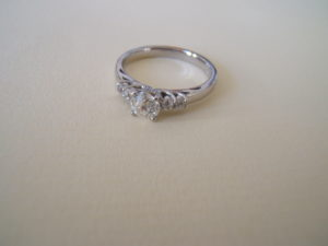 platinum CAD bespoke ring